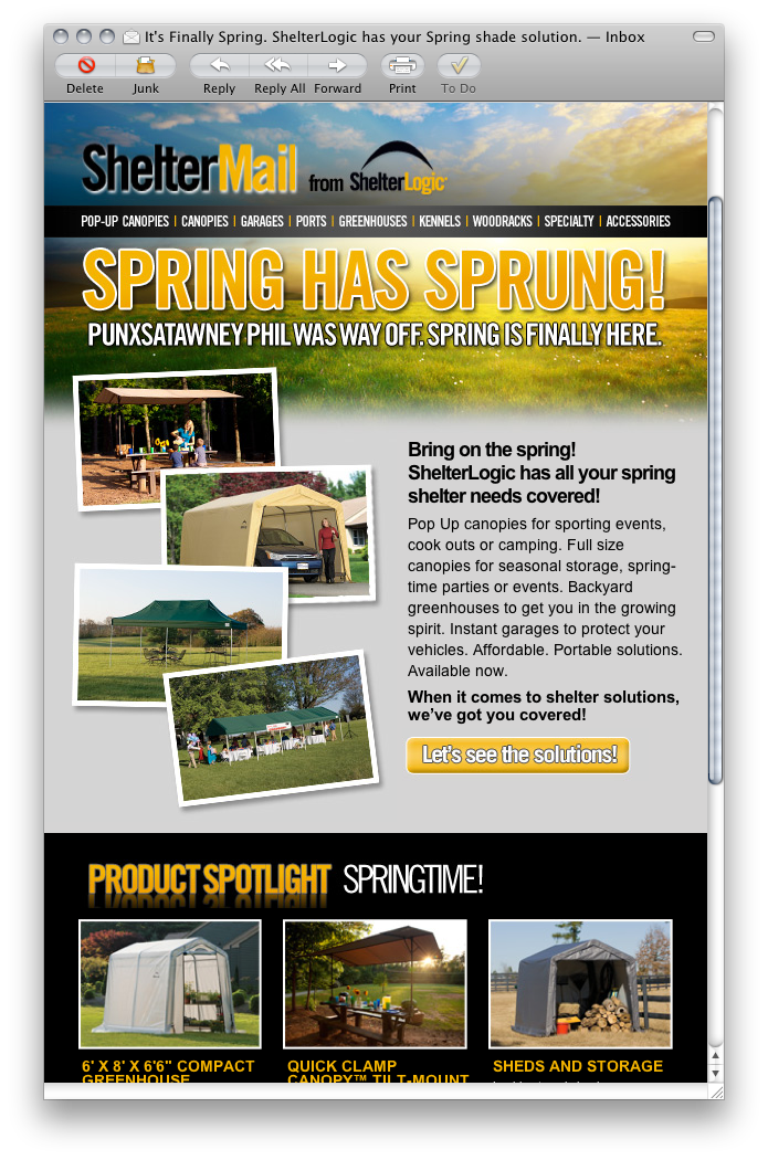 Spring Email